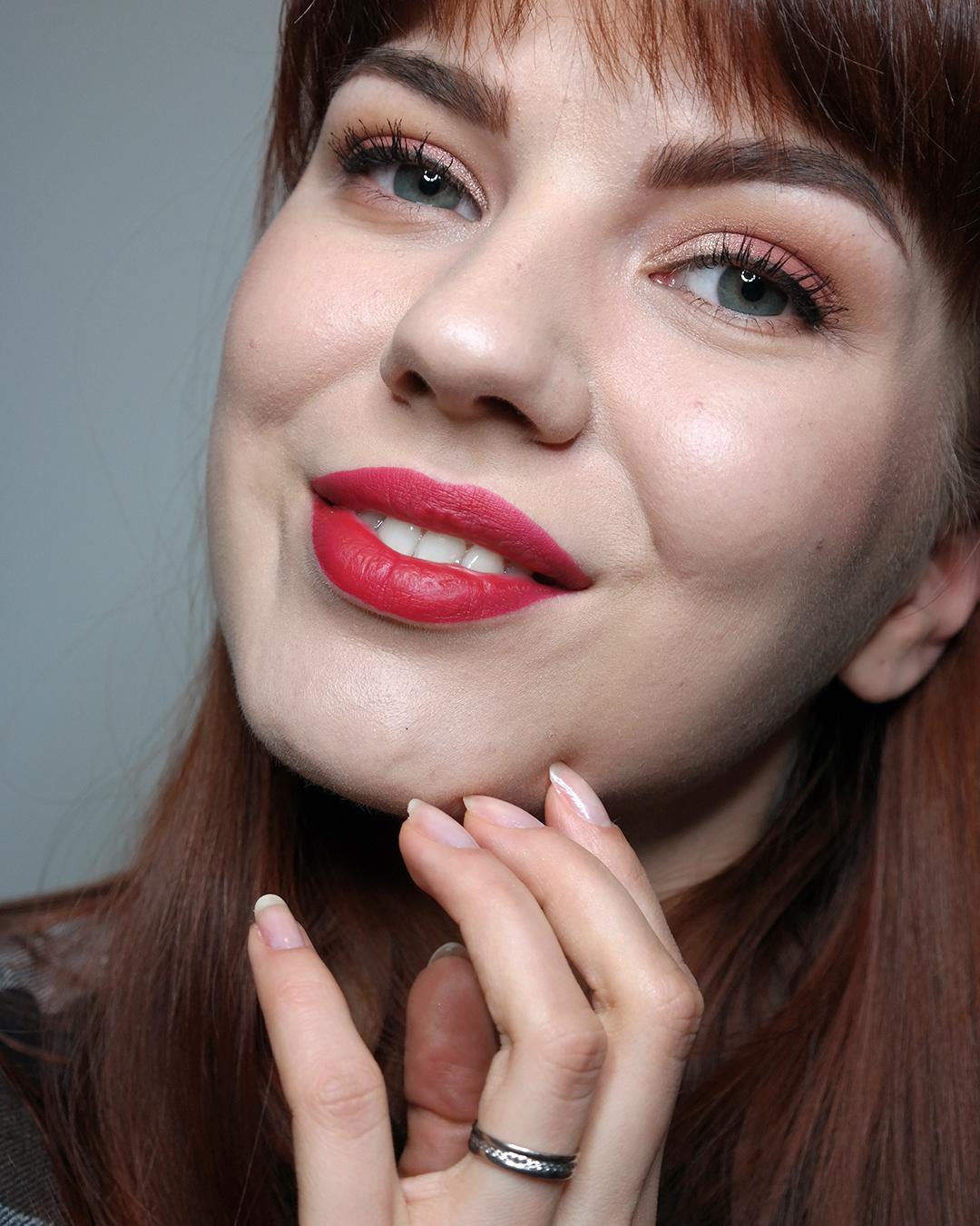 YSL Tatouage Couture Liquid Matte Lipstick 10 Carmin Statement