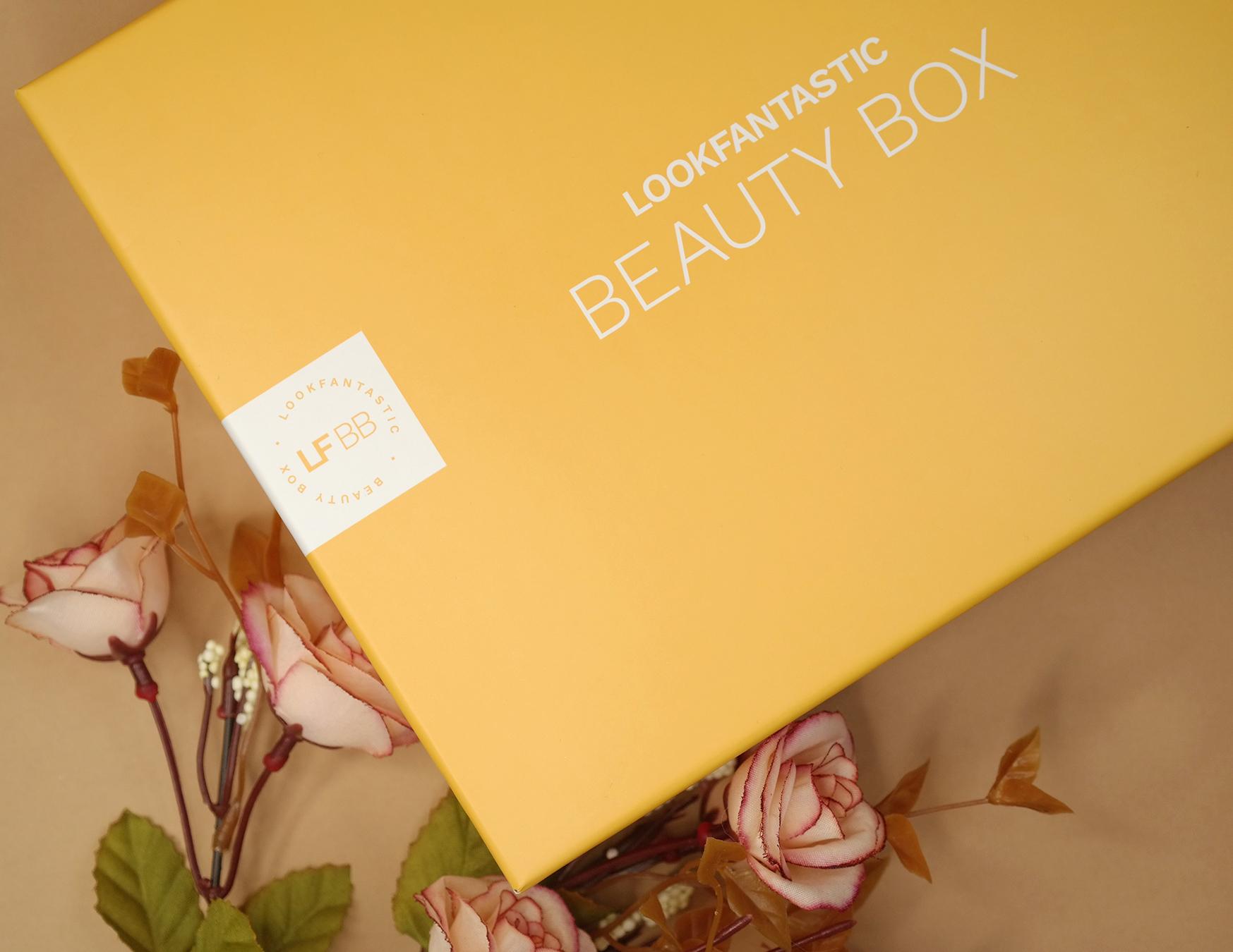 Lookfantastic beauty box lokakuu 2021