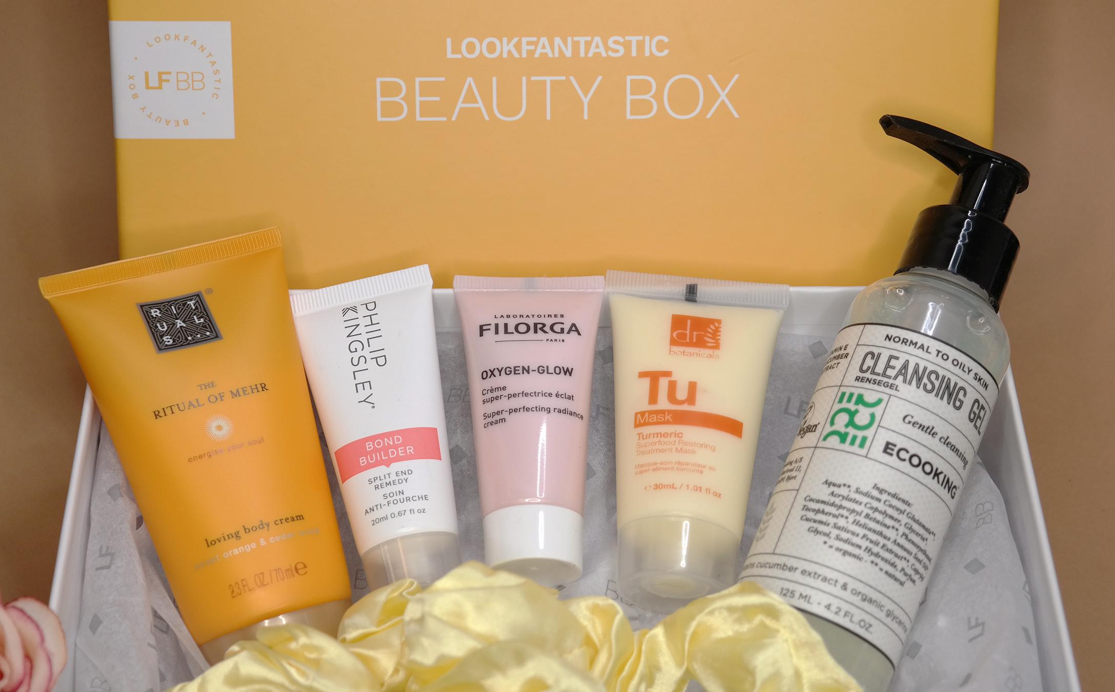 Lookfantastic Beauty box lokakuu kauneusboksi
