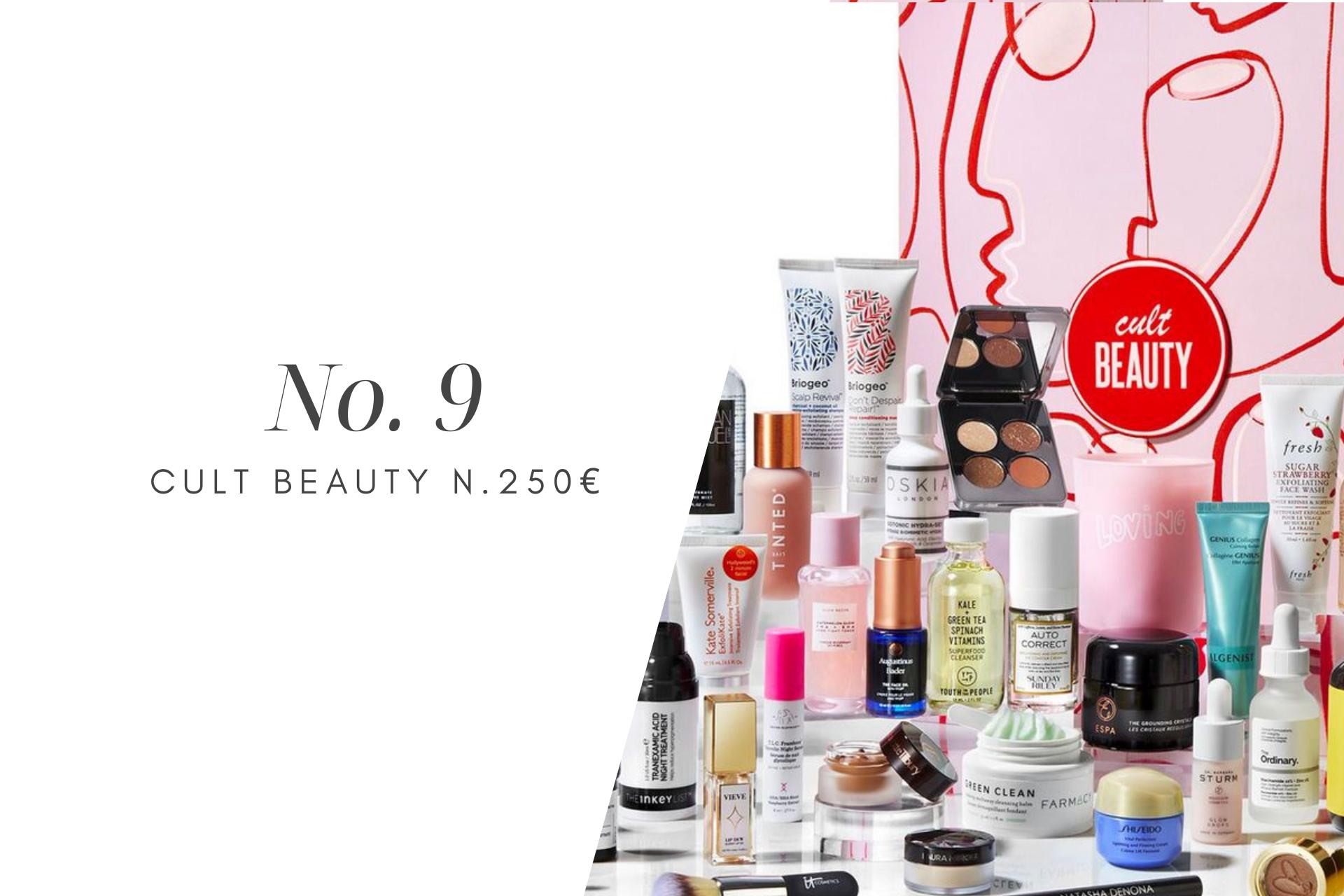 kosmetiikkajoulukalenteri Cult Beauty