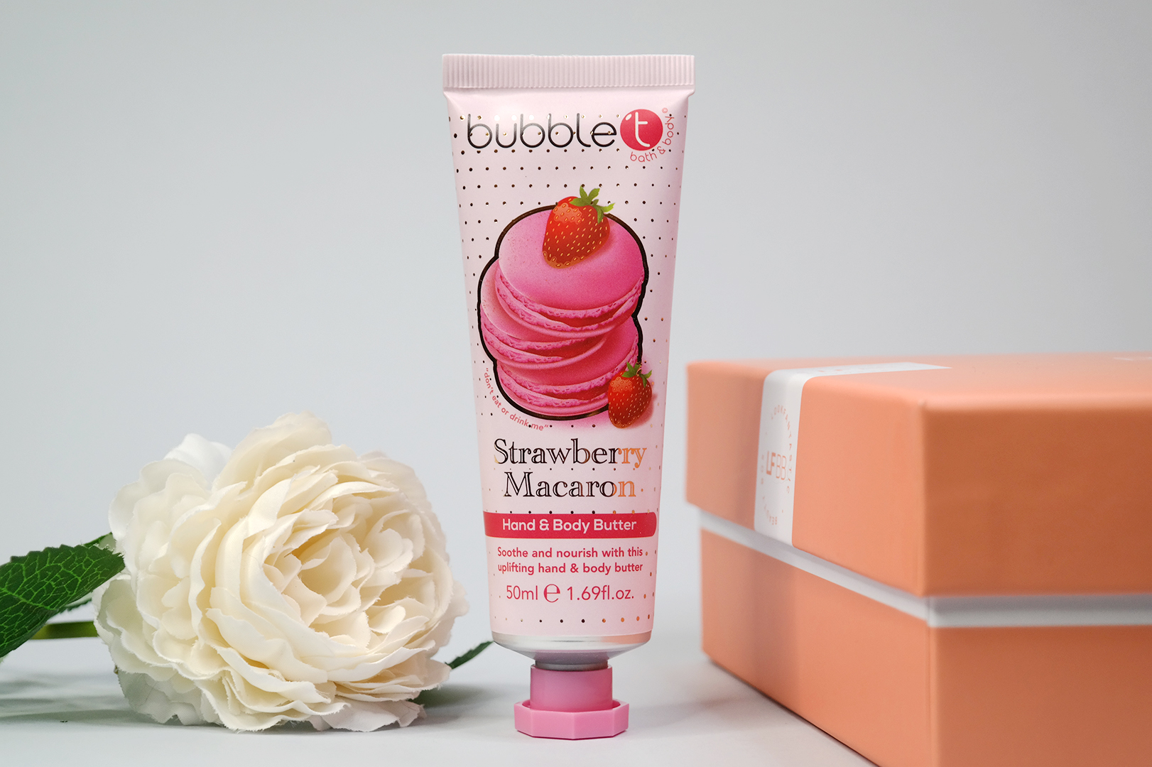 Bubble T Strawberry Macaron Hand & Body Butter