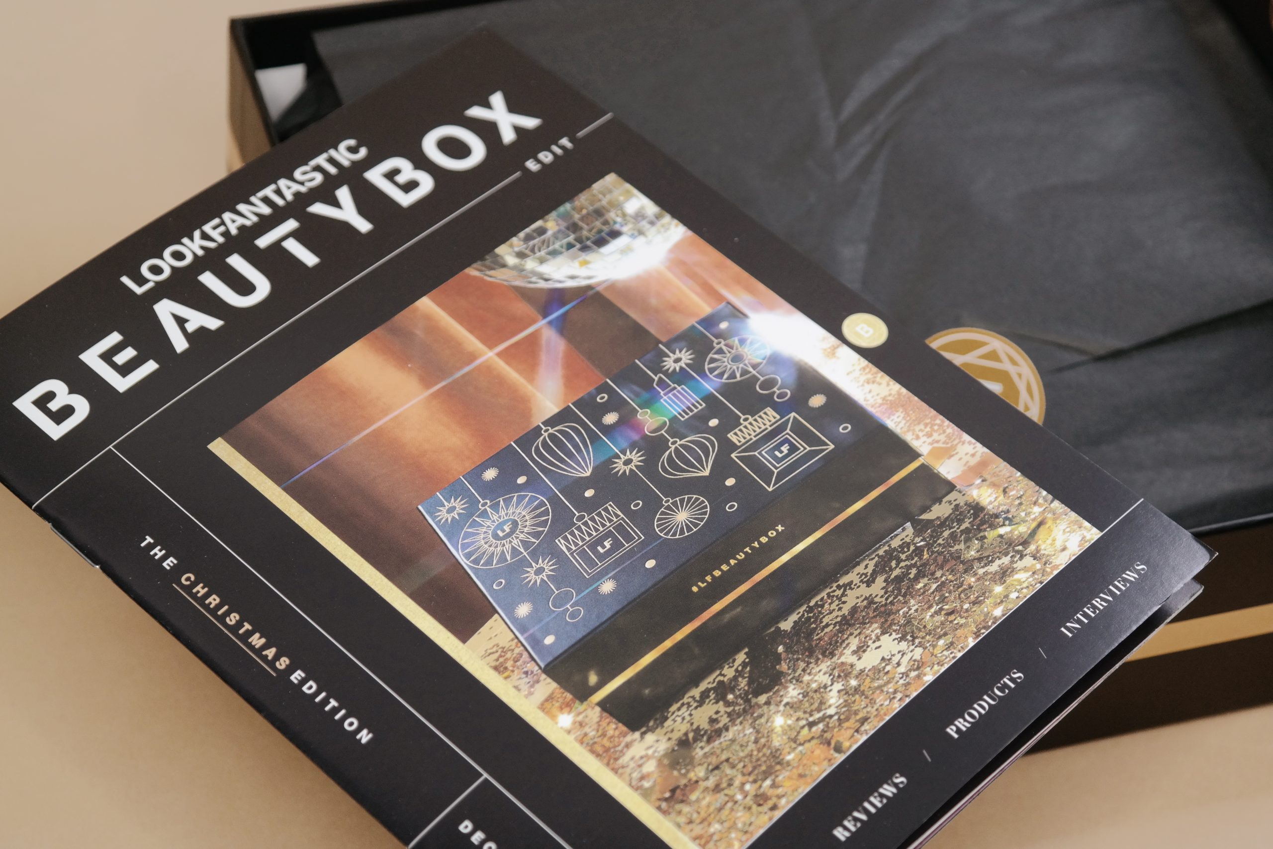 Lookfantasti Beauty Box joulukuu