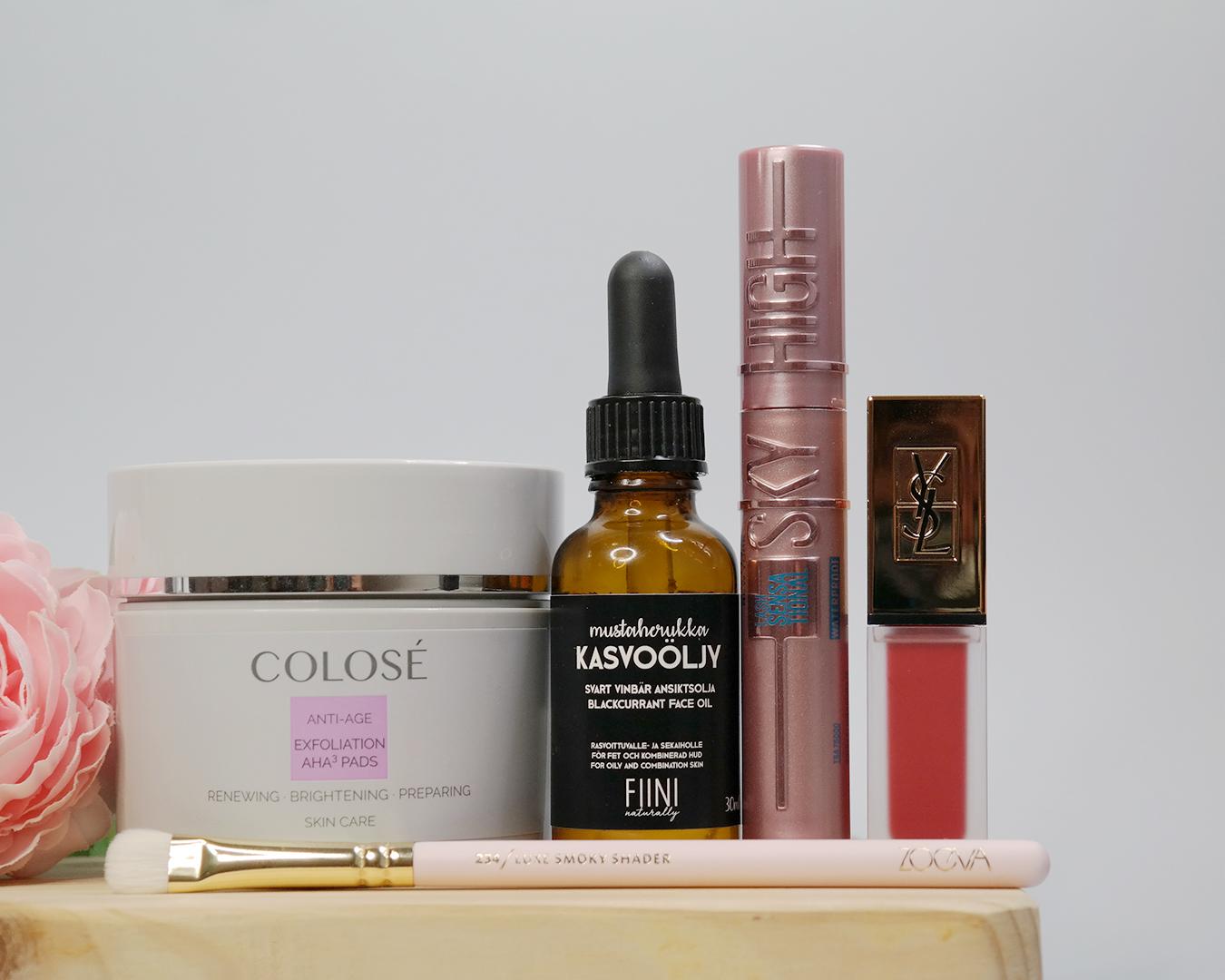 huhtikuun kosmetiikkasuosikit