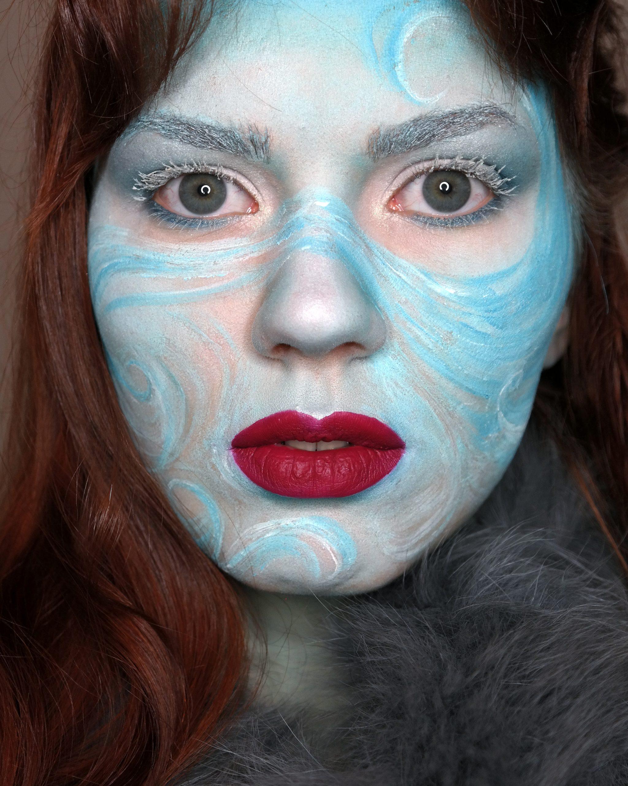 fantasiameikki maskeeraus