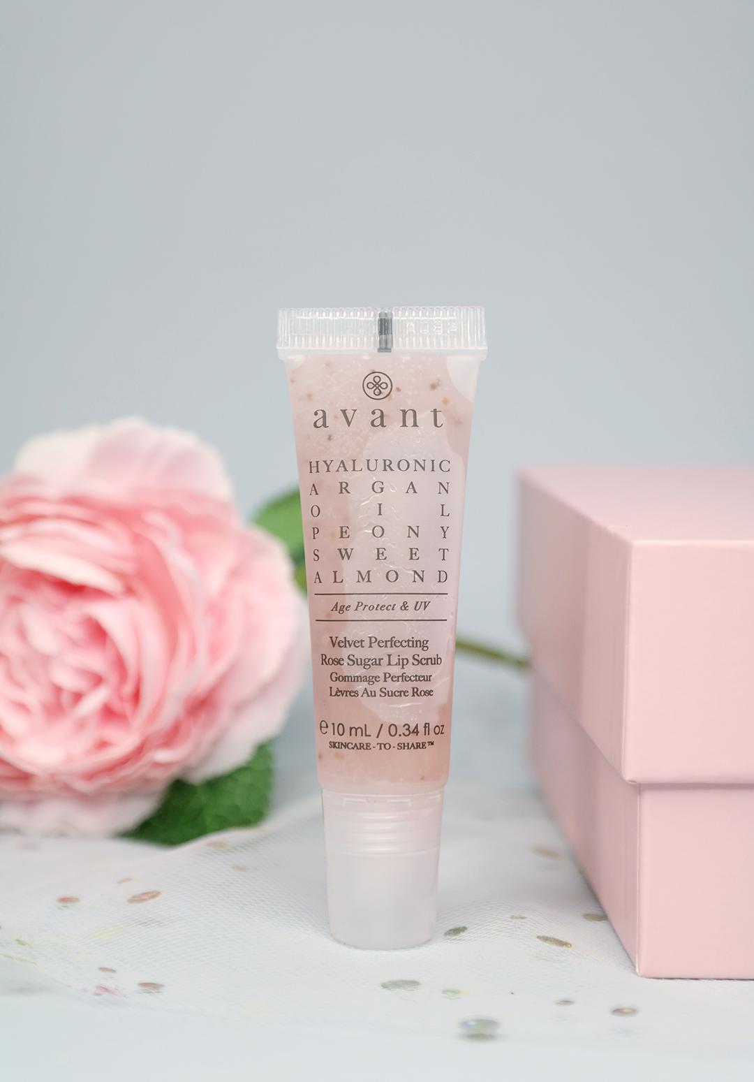 Avant Velvet Perfecting Rose Sugar Lip Scrub