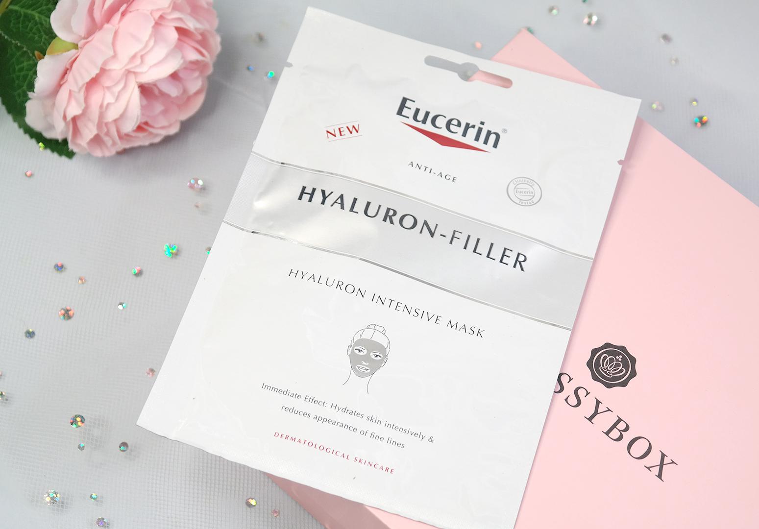 Eucerin Hyaluron-Filler kangasnaamio