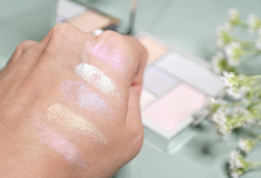 Sleek Makeup Distorted Dreams Highlighting Palette swatch