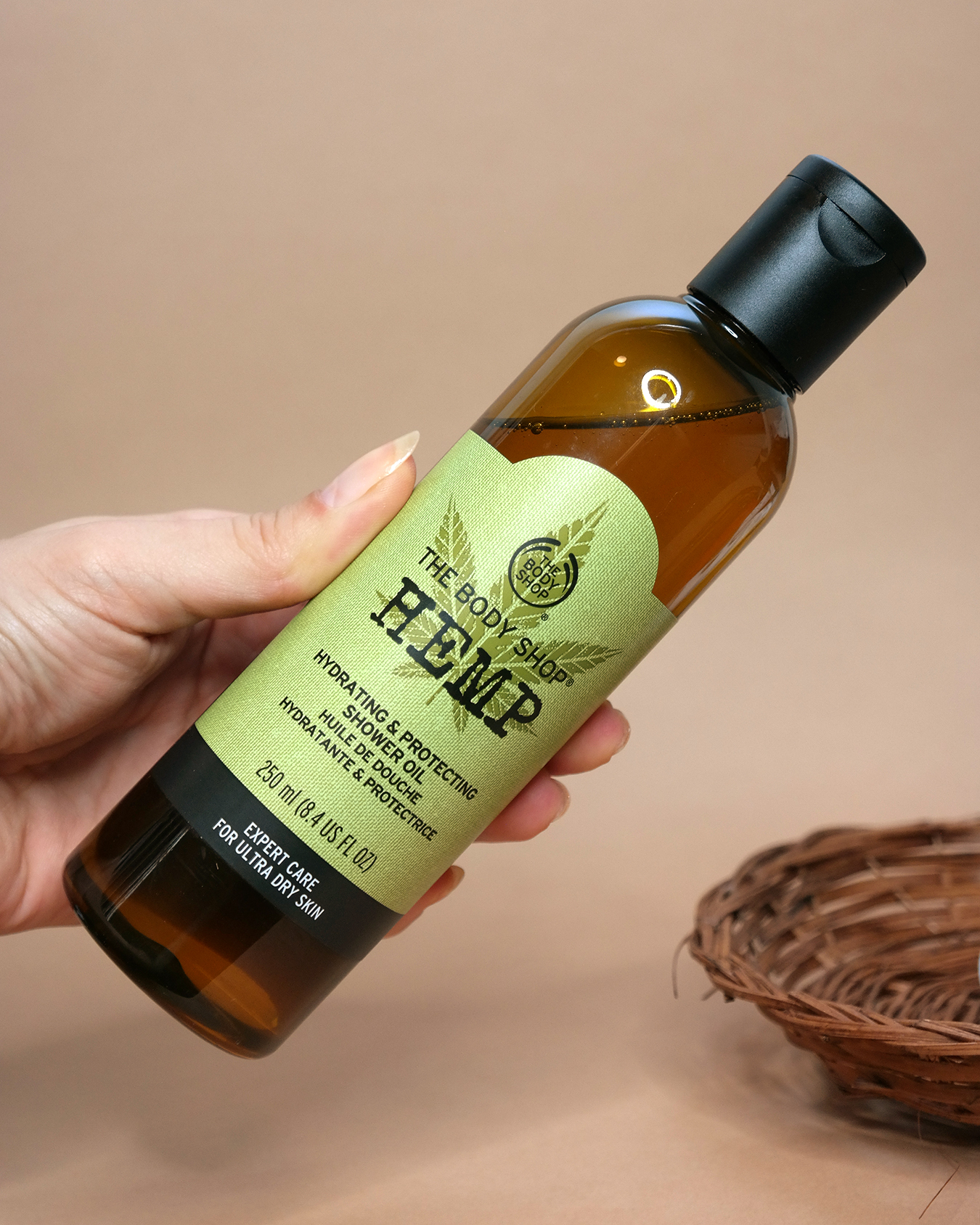 The Body Shop Hemp Hydrating & Protecting Shower Oil