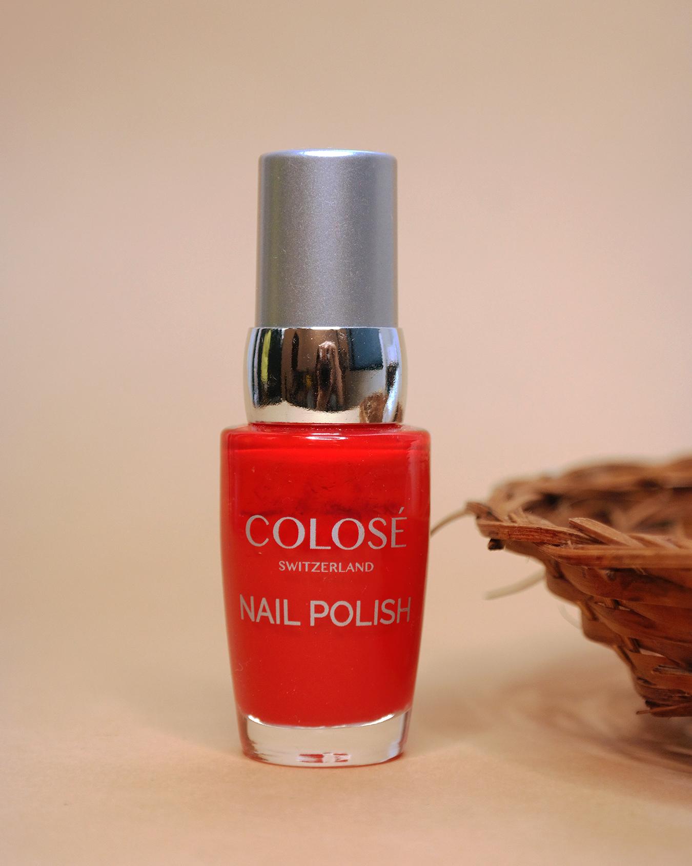 Colosé Nail Polish Red Love