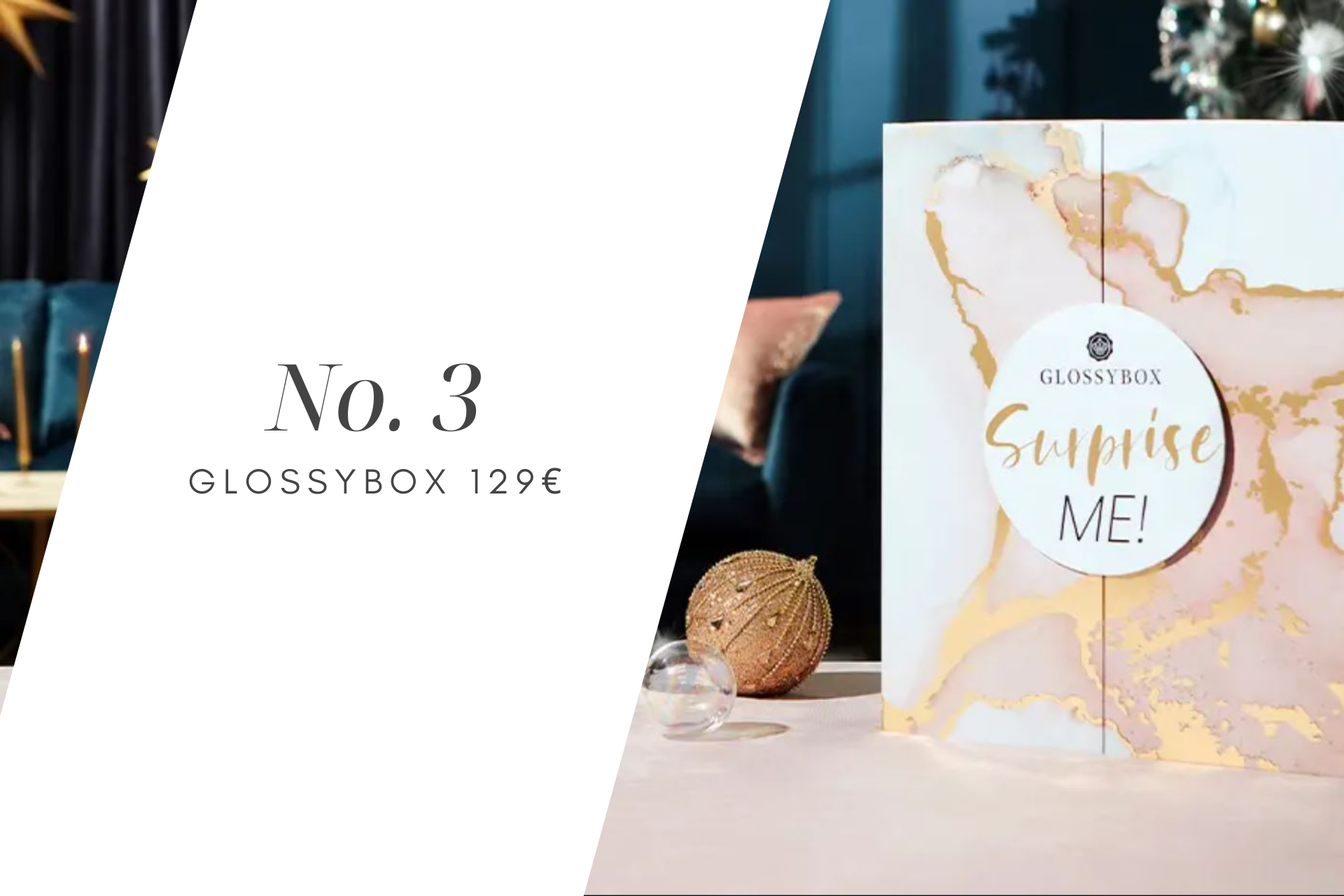 kosmetiikkajoulukalenteri 2021 Glossybox