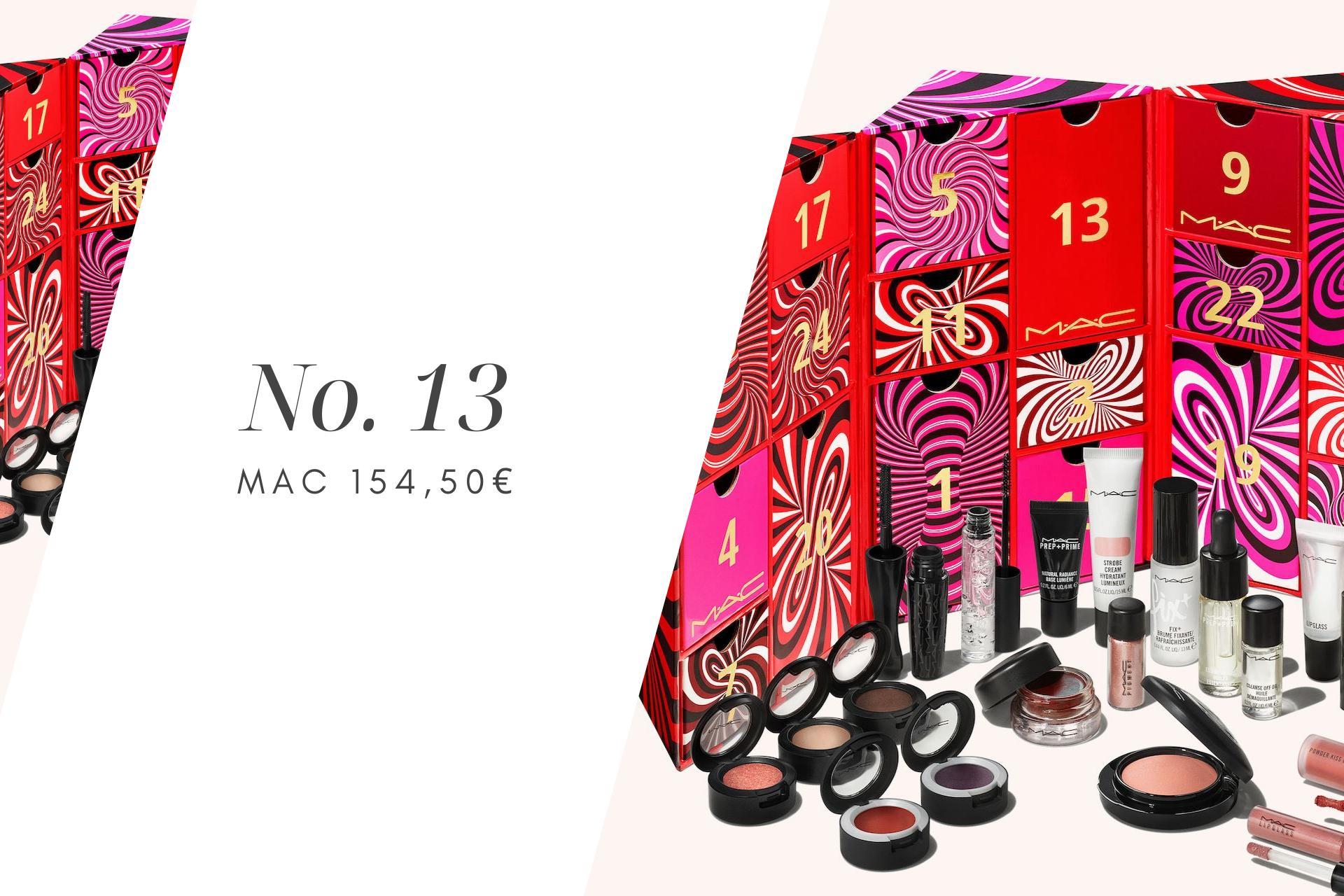 MAC kosmetiikkajoulukalenteri 2021