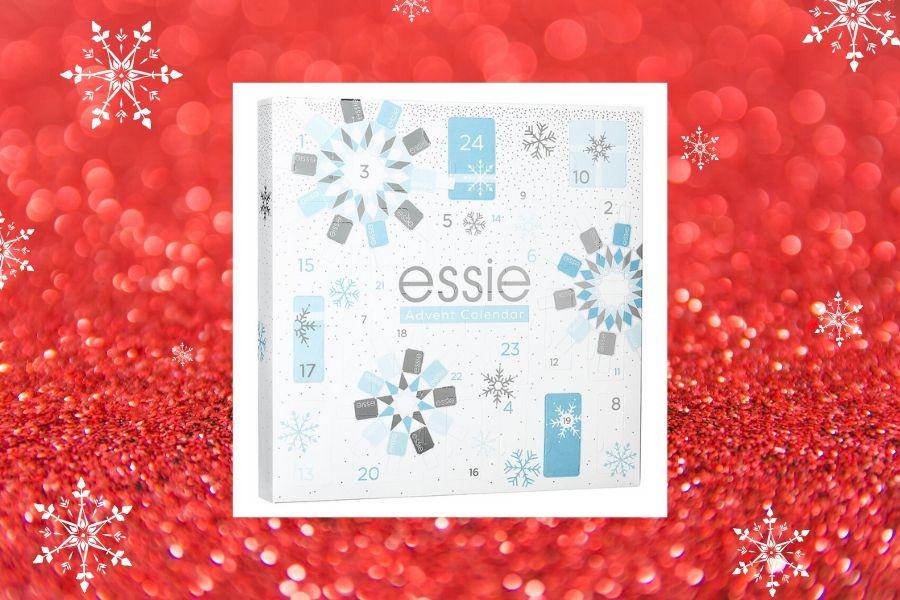 Essie kosmetiikkajoulukalenteri 2019